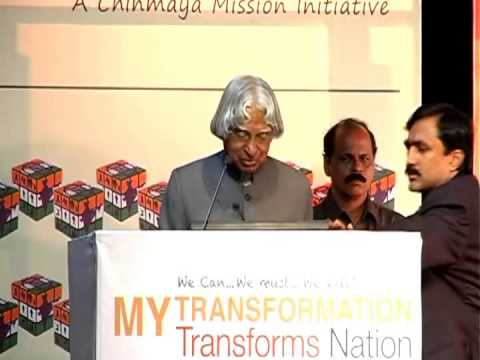 Dr. Apj Abdul Kalam On transforming Indians To Transform India video