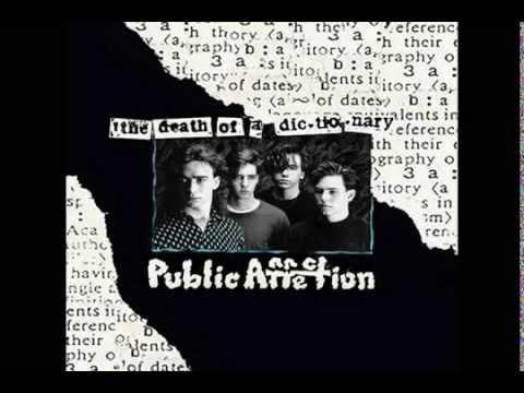 Public Affection - Death of a Dictionary Album