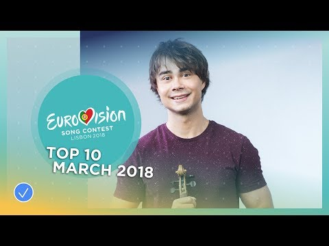 TOP 10: Most watched in March 2018 - Eurovision Song Contest