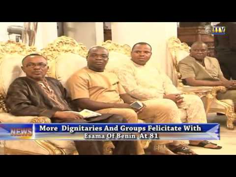 More dignitaries felicitate with Esama of Benin at 81