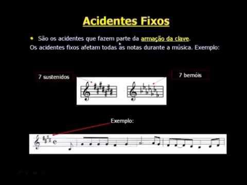 Acidentes - CCB Teoria Musical