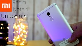 Xiaomi Redmi Note 4  -  Unboxing !