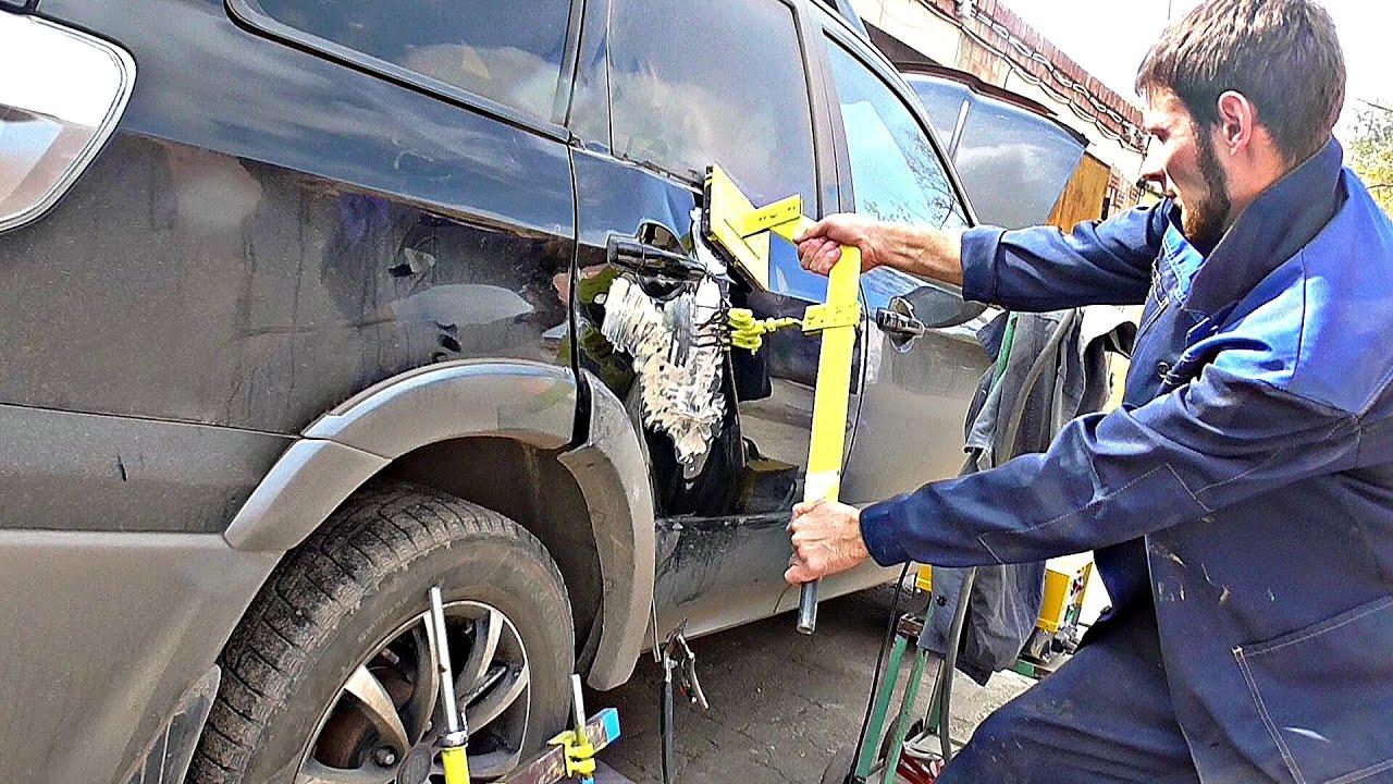 Кузовной ремонт своими руками с применением донора