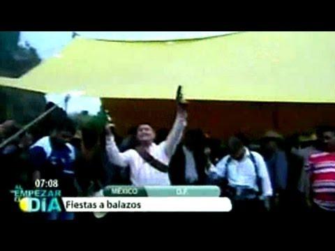 Las balas 'amenizan' la fiesta de la Virgen del Rosario en Iztapalapa