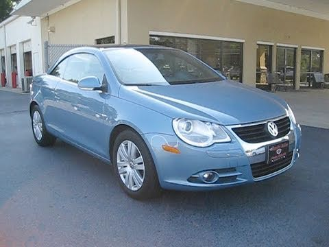 2007 Volkswagen EOS 2.0T Start Up, Engine, and In Depth Tour w/ Top Demo