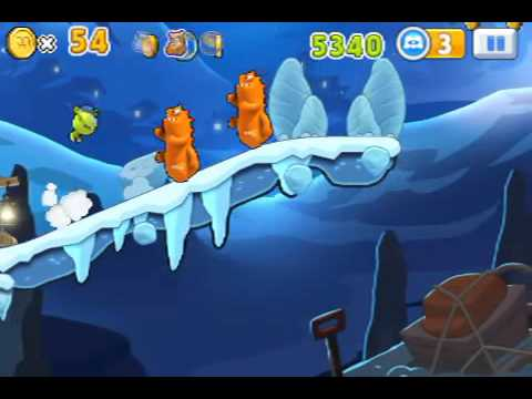 Monster, inc  Run Ice Cave Level 14 ios iphone gameplay