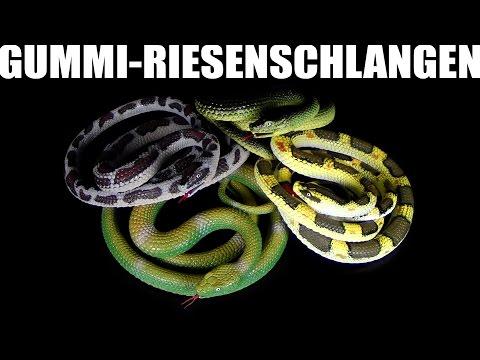 Weico ® Rupi in der Schlangengrube - Grosse Gummischlangen Review / 2014 Re-Upload