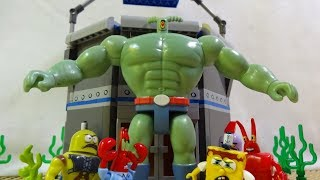 "Mega Bloks Spongebob Episode 24 ""Plank-TON"""