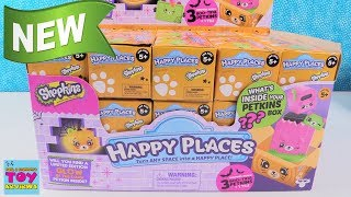 Happy Places Shopkins Halloween Spooky Glow In The Dark Blind Bag Toy Review | PSToyReviews