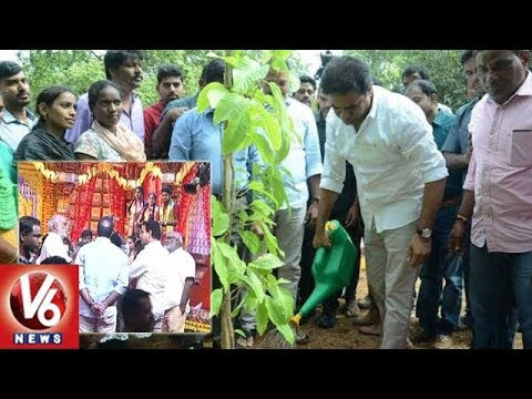 Minister KTR Attends T-SAT First Anniversary Celebrations In Ambedkar University | V6 News