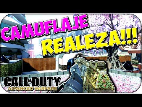 CAMUFLAJE REALEZA!! - FUSILES + ARMADURA - ADVANCED WARFARE - Rubinho vlc