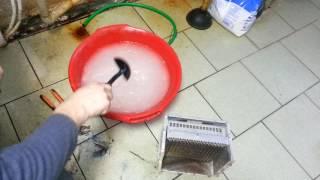 Как очистить теплообменник газового котла от накипи