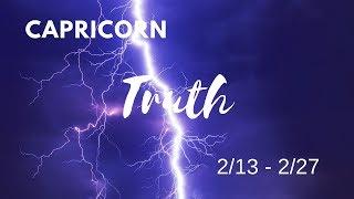 CAPRICORN: The Harsh Truth 2/13 - 2/27