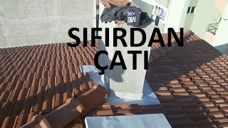 ÇATI NASIL YAPILIR BİNA ÇATISI SIFIRDAN YAPIM HOW TO SCRATCH THE ROOF ROOF BUILDING CONSTRUCTION