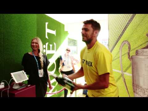 Moet Moments - Stan Wawrinka - Aegon Championships