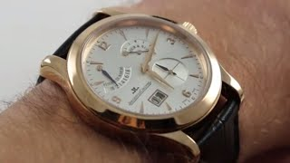 Pre-Owned Jaeger-LeCoultre Master Eight Days Q1602420 Luxury Watch Review