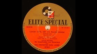 Leila Negra - Lieber Gott, Lass Die Sonne Wieder - 50's German Schlager Pop On Elite Special 78 Rpm