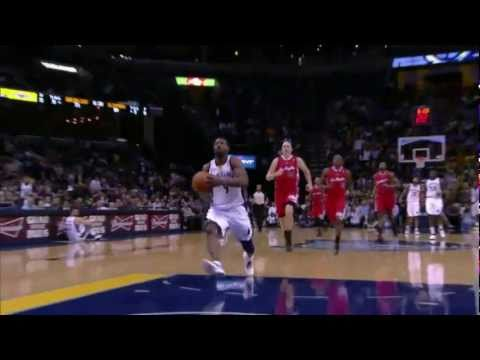 Tony Allen Top 10 Plays - 2010-2011 season