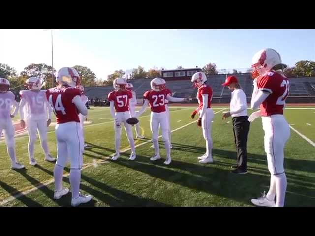 The Making of the Victoria's Secret Football Video