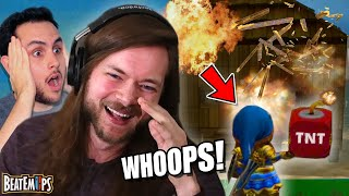 Loser BLOWS UP THEIR HOUSE in Dragon Quest Builders 2!!