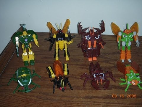 Transformers g1 Insecticons g1 Deluxe Insecticons