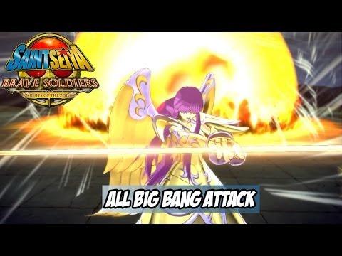 Saint Seiya Brave Soldiers All Characters Big Bang Attacks Exhibition HD