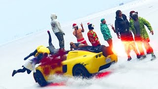 BRUTAL CRASH - GTA 5 ONLINE