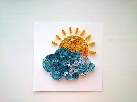 Paper Quilling IdeasQuilling Pictures. DIY Room Decor, DIY Crafts for Home Decoration With Quilling