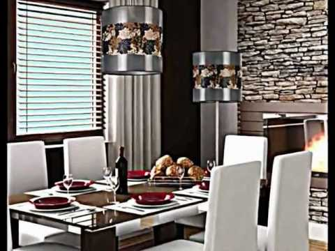 Ideas de decoracion con lamparas modernas de dise o youtube for Decoracion salas modernas