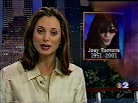 Local Coverage of The Death of Joey Ramone (Easter Sunday, 2001)