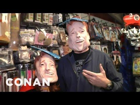Conan Visits The Halloween Store - CONAN on TBS