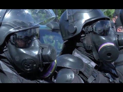 Brasil 2014: Simulacros de seguridad previo al Mundial