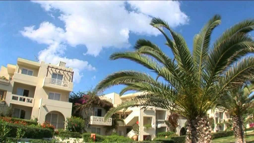 Platanias Hotel Santa Helena Beach Youtube