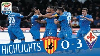 Benevento - Fiorentina 0 - 3 - Highlights - Giornata 9 - Serie A TIM 2017/18