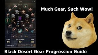 Black Desert - Gear Progression Guide