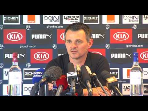 Point Presse - Willy Sagnol - Bordeaux vs Nantes