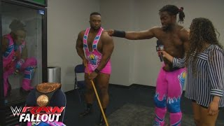"The New Day rehabilitates in the ""Positivity Box"": Raw Fallout, February 29, 2016"