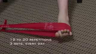 Foot & Ankle Stretching & Strengthening Exercise Demonstration