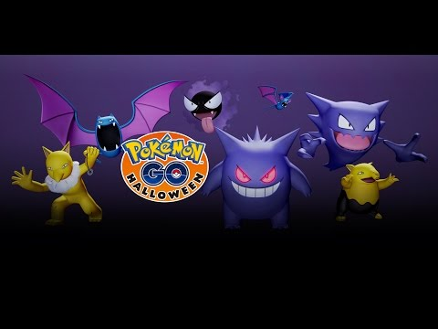 Pokémon GO - Halloween Is Approaching...