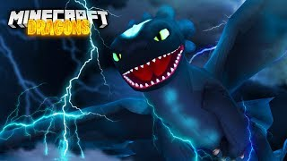 The ALPHA NIGHTFURY is HUNTED! - Minecraft Dragons