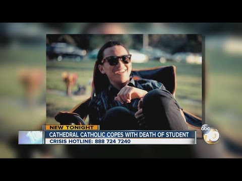 Cathedral Catholic High School mourns loss of student