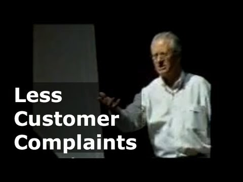 Less Customer Complaints - Not Bigger Complaints Department | Colin Bockman