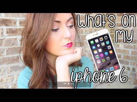 What's on My iPhone 6?! + How-to Edit Instagram Pictures