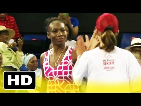 Ball girl BEATS Serena Williams in Tennis! Venus surprised (Amazing)