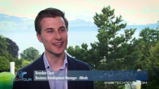 Tech Tour Healthtech Summit 2016 Interview with Brendan Clare Business Development Manager at iMinds