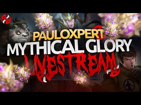 ⭕ ROAD TO MYTHICAL GLORY | GOSU PAULO | NEW SEASON GRIND | MOBILE LEGENDS