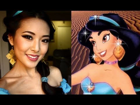 Disney Princess Jasmine Halloween Tutorial