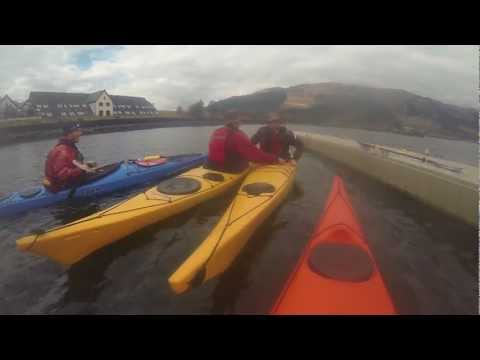 Sea Kayak Safety and Rescue Training & Segwaying - Glencoe April 2013
