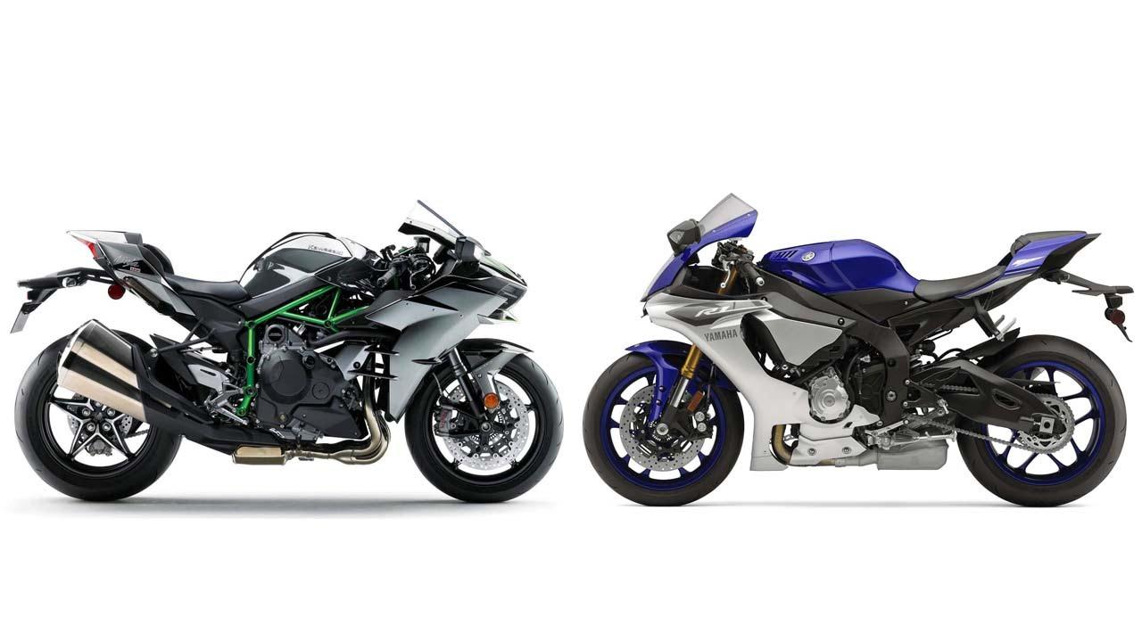 Yamaha R Vs Ninja R
