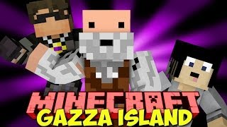 "Minecraft: Gazza Island! w/ SkyDoesMinecraft & more! ""CAGED!"""